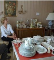 Dottie at Estate Sale